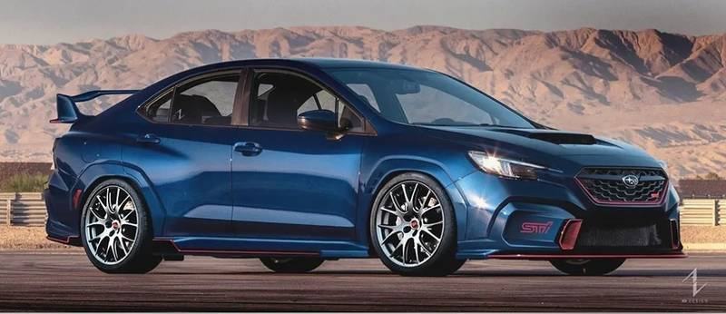 Does This Rendering Preview the New Subaru WRX STI? - image 1020300