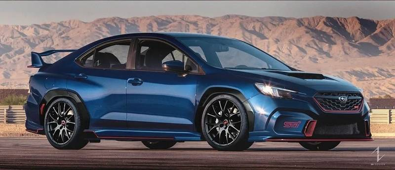 Does This Rendering Preview the New Subaru WRX STI? - image 1020301