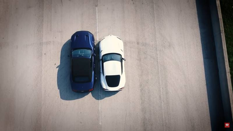 Drag Race: Can The Mustang GT Convertible Take On The GT Supra? - image 1017931