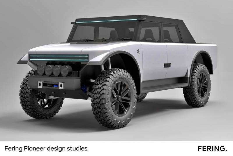 The Fering Pioneer Has Fabric Doors And A Usable Range Of 4,350 Miles - image 1018718