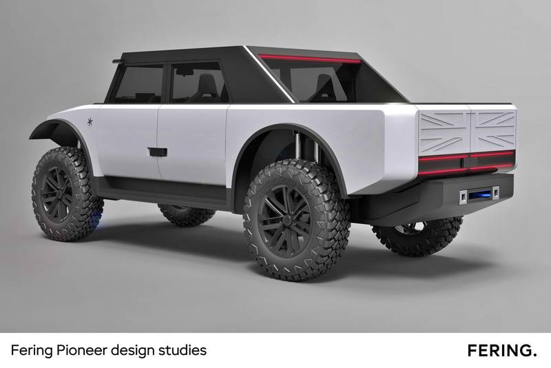 The Fering Pioneer Has Fabric Doors And A Usable Range Of 4,350 Miles - image 1018839