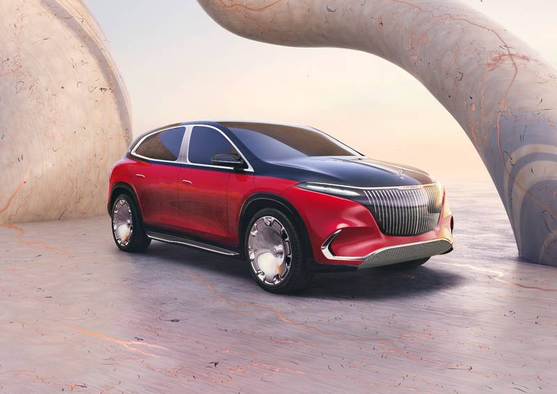 Mercedes-Benz Goes On A Reveal Spree In Munich To Maintain The EV EQ-uilibrium Exterior - image 1014596