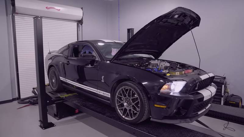 How Much Power Has The Shelby GT500 Lost After 182,271 miles? - image 1019308