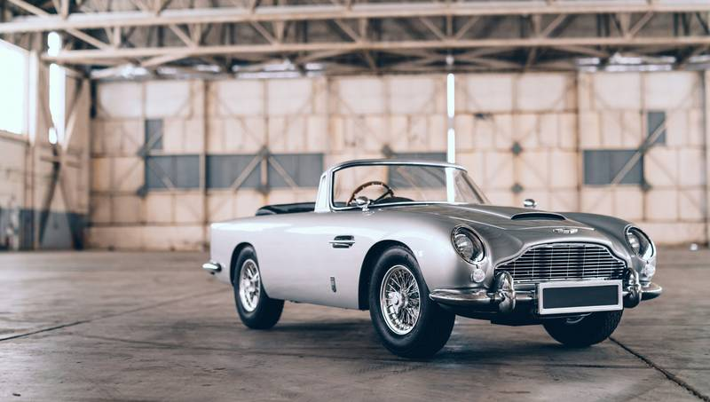 Invoke the James Bond Spirit In Your Kid With This Aston Martin DB5 Junior 'No Time To Die' Edition - image 1019083