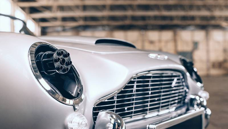 Invoke the James Bond Spirit In Your Kid With This Aston Martin DB5 Junior 'No Time To Die' Edition - image 1019085