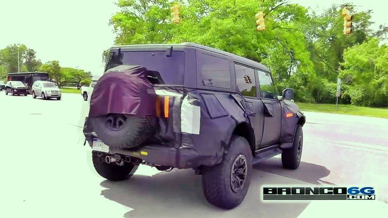 Leaked Data Confirms the Ford Bronco Raptor's Existence - image 1017554