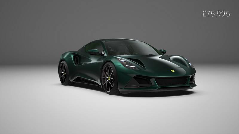 Lotus Has Revealed Specs Of The Flagship Emira V-6 First Edition - image 1018783
