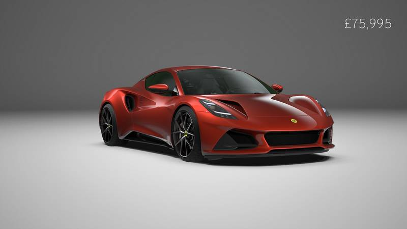 Lotus Has Revealed Specs Of The Flagship Emira V-6 First Edition - image 1018785