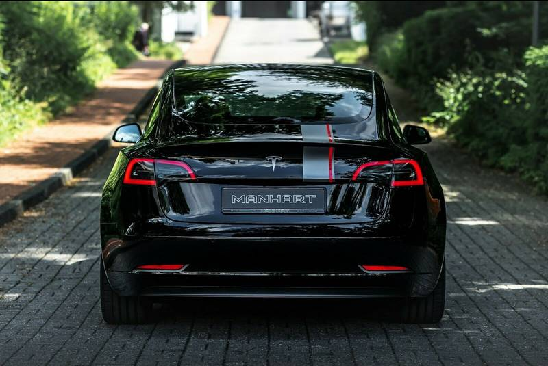 Manhart Put A Grille On The Tesla Model 3 And It Looks Good Exterior - image 1016844