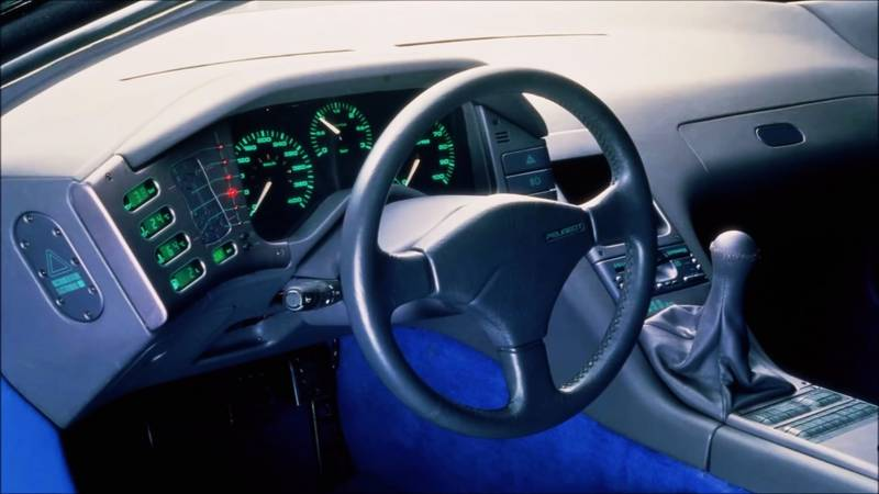 1988 The Forgotten Mid-Engined Peugeot Oxia Concept From 1988 Was a Car Well Ahead of its Time - image 1019937