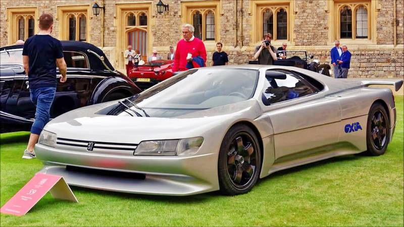 1988 The Forgotten Mid-Engined Peugeot Oxia Concept From 1988 Was a Car Well Ahead of its Time - image 1019939