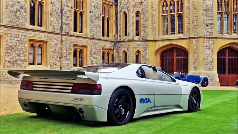 1988 The Forgotten Mid-Engined Peugeot Oxia Concept From 1988 Was a Car Well Ahead of its Time - image 1019925
