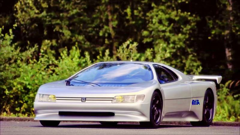 1988 The Forgotten Mid-Engined Peugeot Oxia Concept From 1988 Was a Car Well Ahead of its Time - image 1019931