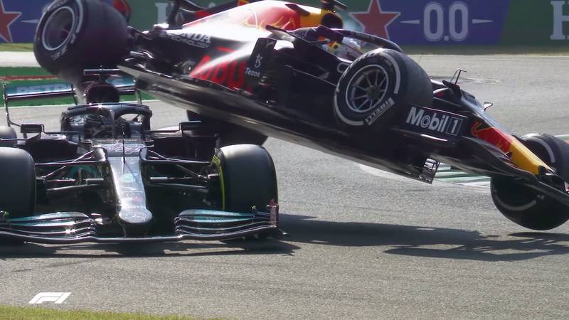The Halo Saved Lewis Hamilton's Life After Max Verstappen's Car Ended On Top Of Him At The Italian Grand Prix! - image 1016823