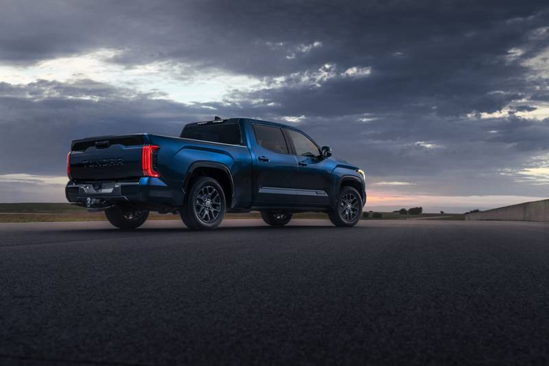 The New 2022 Toyota Tundra Breaks Cover With A New Hybrid V-6 And A Whole Lot Of Major Upgrades High Resolution Exterior - image 1018663
