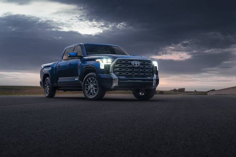 The New 2022 Toyota Tundra Breaks Cover With A New Hybrid V-6 And A Whole Lot Of Major Upgrades High Resolution Exterior - image 1018662