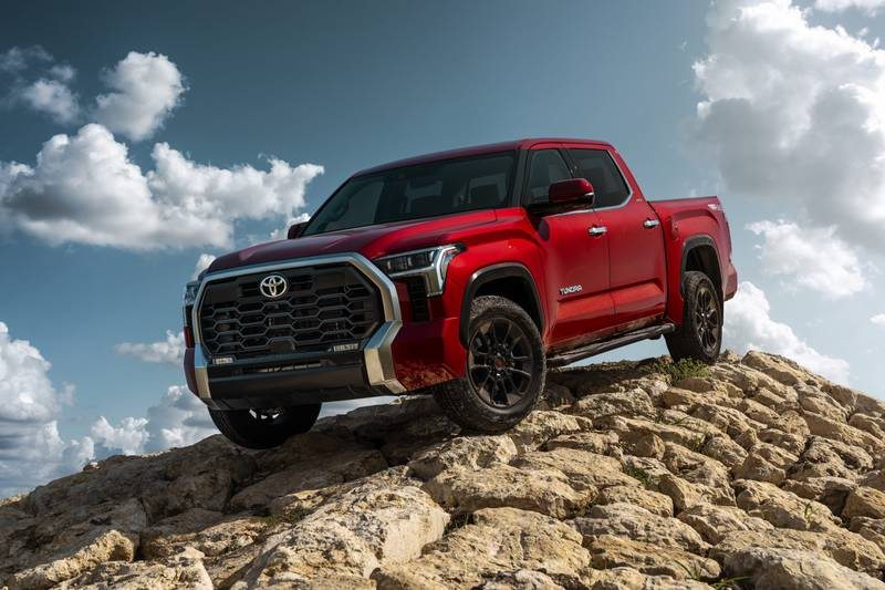The New 2022 Toyota Tundra Breaks Cover With A New Hybrid V-6 And A Whole Lot Of Major Upgrades High Resolution Exterior - image 1018653