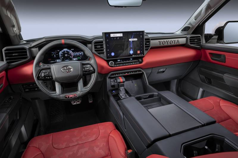 The New 2022 Toyota Tundra Breaks Cover With A New Hybrid V-6 And A Whole Lot Of Major Upgrades High Resolution Interior - image 1018673