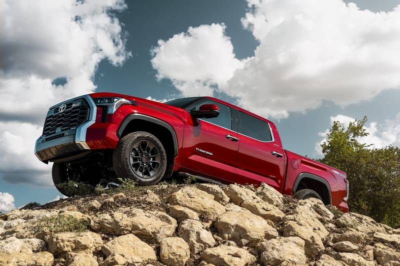 The New 2022 Toyota Tundra Breaks Cover With A New Hybrid V-6 And A Whole Lot Of Major Upgrades High Resolution Exterior - image 1018654