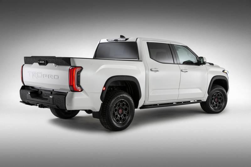 The New 2022 Toyota Tundra Breaks Cover With A New Hybrid V-6 And A Whole Lot Of Major Upgrades High Resolution Exterior - image 1018683