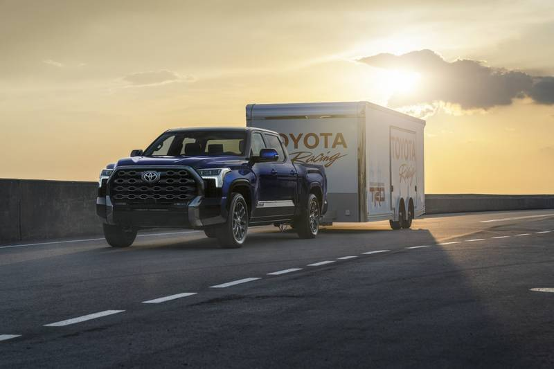 The New 2022 Toyota Tundra Breaks Cover With A New Hybrid V-6 And A Whole Lot Of Major Upgrades High Resolution Exterior - image 1018660