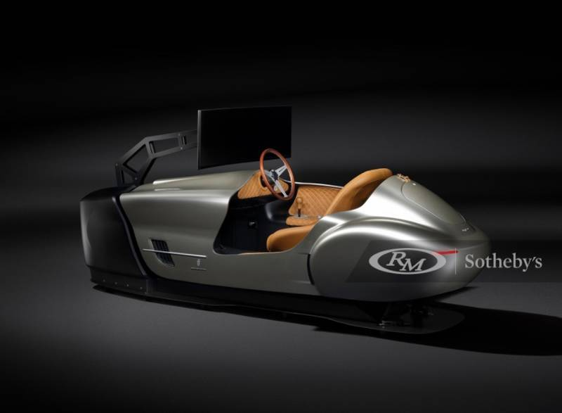 This One-of-Nine Pininfarina Leggenda eClassic Simulator Is Expected To Fetch A Six-Digit Price At Auction! - image 1015309