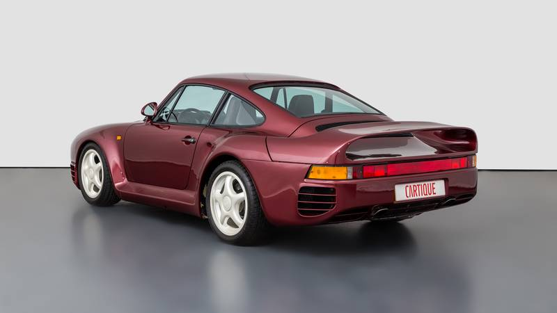 This Porsche 959 Prototype Is One of Very Few Surviving Examples In Existence Exterior - image 1018517
