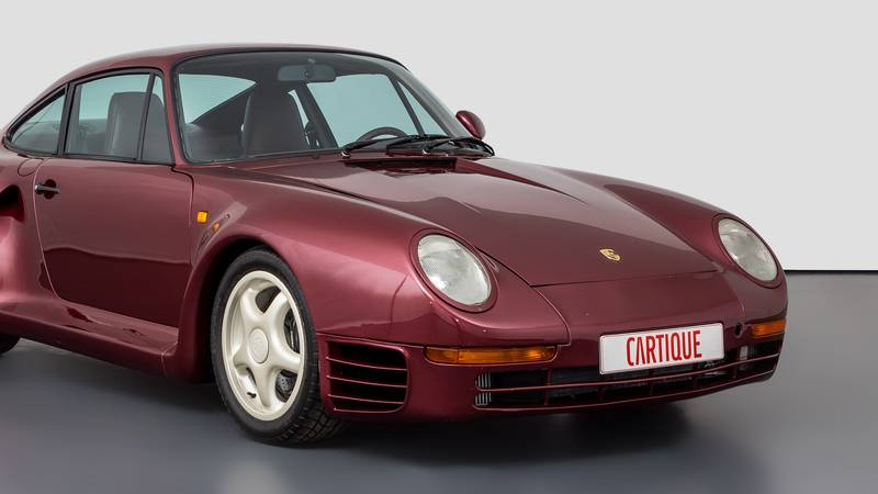 This Porsche 959 Prototype Is One of Very Few Surviving Examples In Existence Exterior - image 1018513