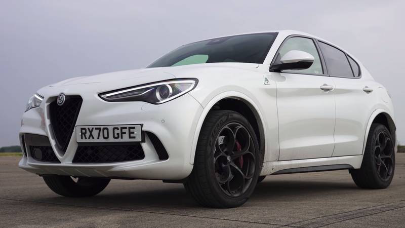 Watch The BMW X3 M, The Jaguar F-Pace, And The Alfa Romeo Stelvio Get Railroaded By The Mercedes-AMG GLC 63! - image 1016081
