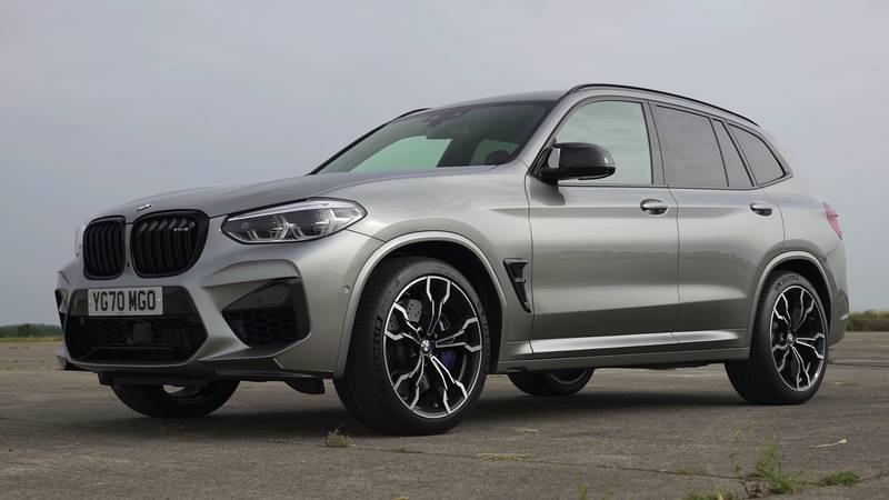 Watch The BMW X3 M, The Jaguar F-Pace, And The Alfa Romeo Stelvio Get Railroaded By The Mercedes-AMG GLC 63! - image 1016082