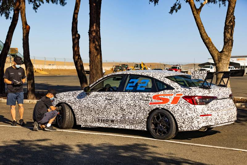 This Race-Spec Version of the 2022 Civic Si Exposes the Future of Tuning Capabilities Exterior - image 1024324