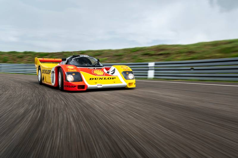 The Iconic Porsche 962 C Has Been Restored to its Original Condition - image 1024270