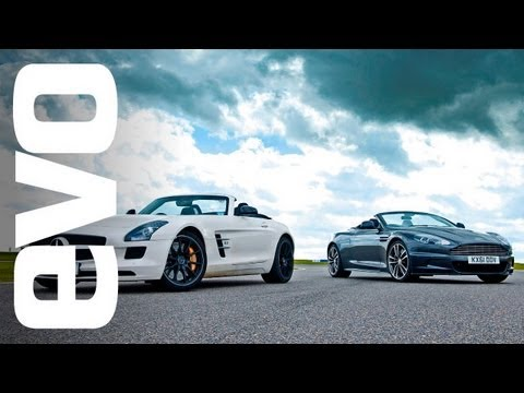 Video: Aston Martin DBS Volante pitted against Mercedes-Benz SLS AMG Roadster