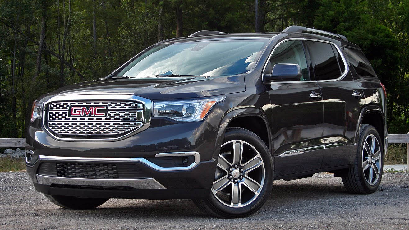 2017 gmc acadia denali driven truck review top speed. Black Bedroom Furniture Sets. Home Design Ideas