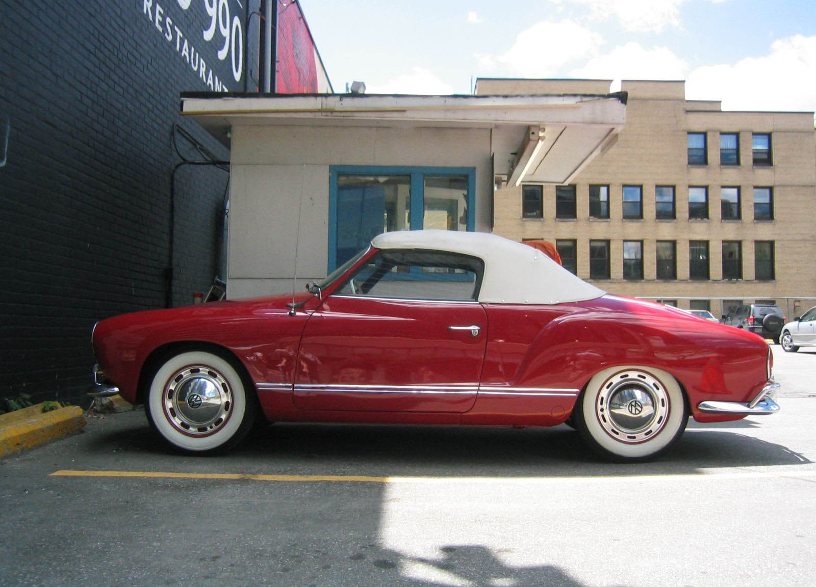 volkswagen karmann ghia top speed