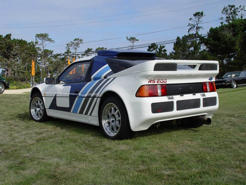 1986 Ford RS200 Evolution | Top Speed