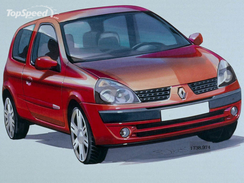 1998 2001 renault clio ii picture 12810 car review top speed. Black Bedroom Furniture Sets. Home Design Ideas