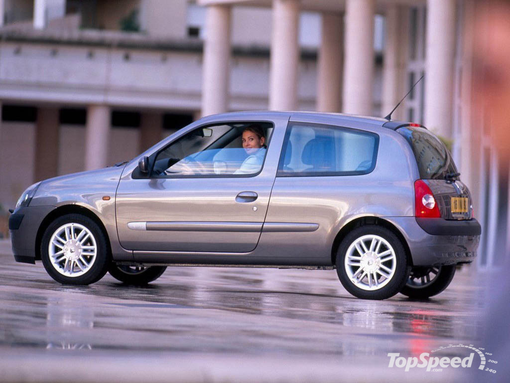 1998 2001 renault clio ii picture 12723 car review top speed. Black Bedroom Furniture Sets. Home Design Ideas