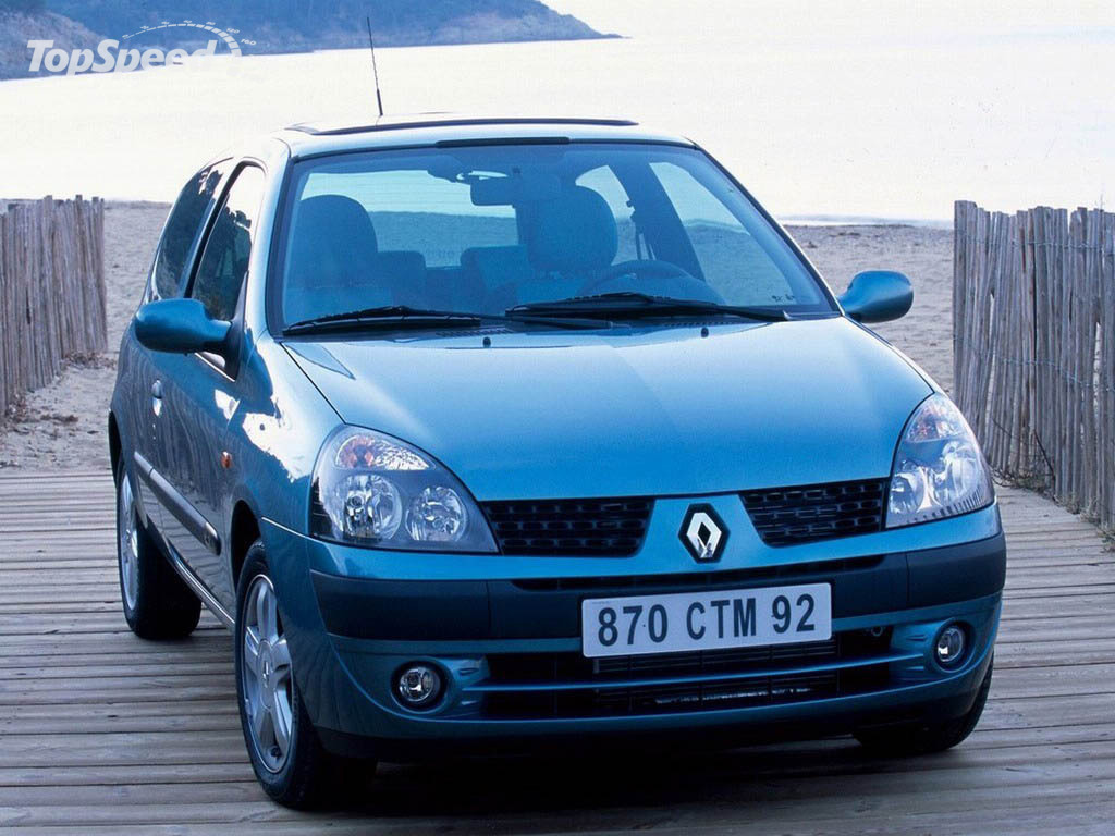 1998 2001 renault clio ii picture 12748 car review top speed. Black Bedroom Furniture Sets. Home Design Ideas