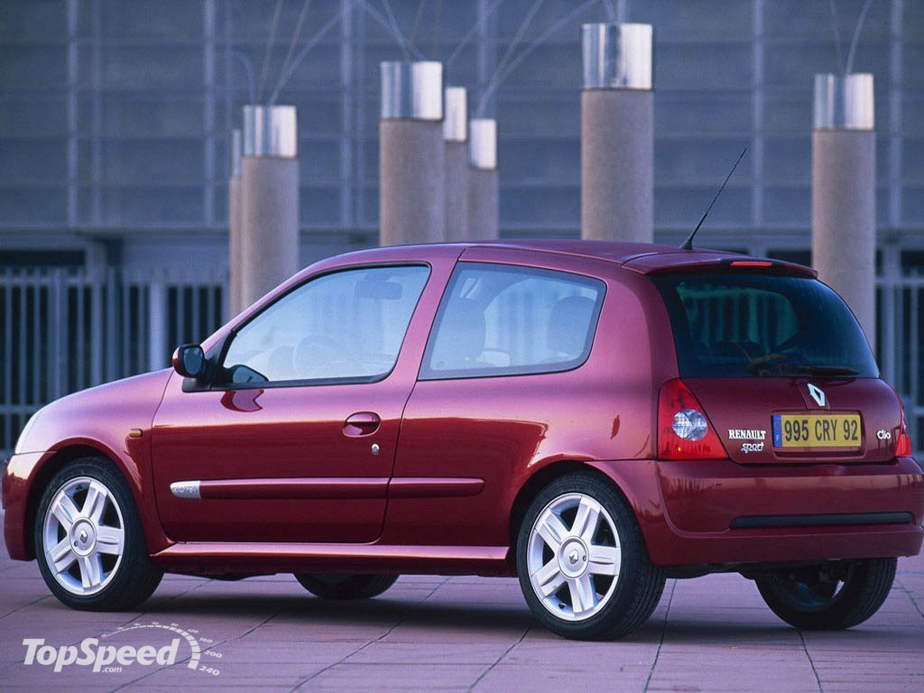 1998 2001 renault clio ii picture 12715 car review top speed. Black Bedroom Furniture Sets. Home Design Ideas