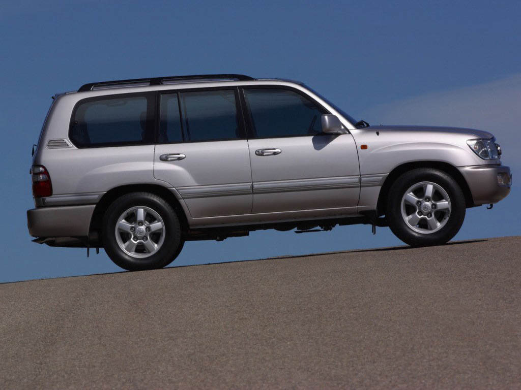 1998 toyota land cruiser 100 series picture doc15791