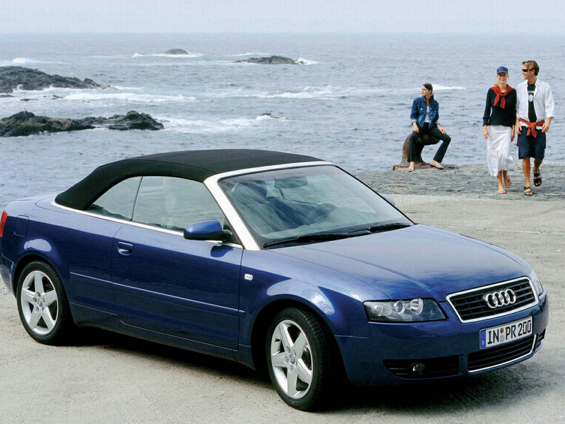 2001 Audi A4 Cabriolet Top Speed