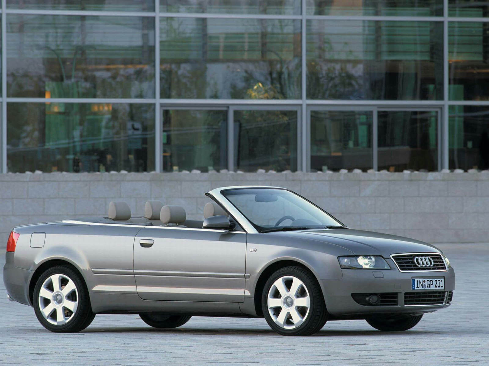 2001 Audi A4 Cabriolet | Top Speed