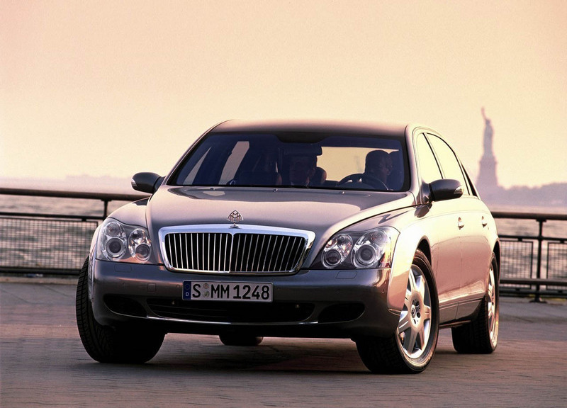 2002 Maybach 62 Review   Top Speed. »