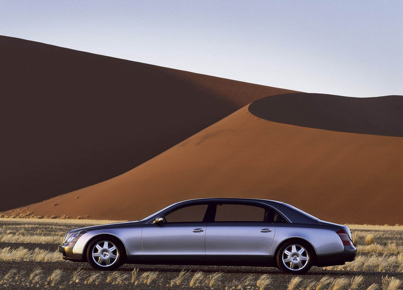 2002 Maybach 62 Top Speed
