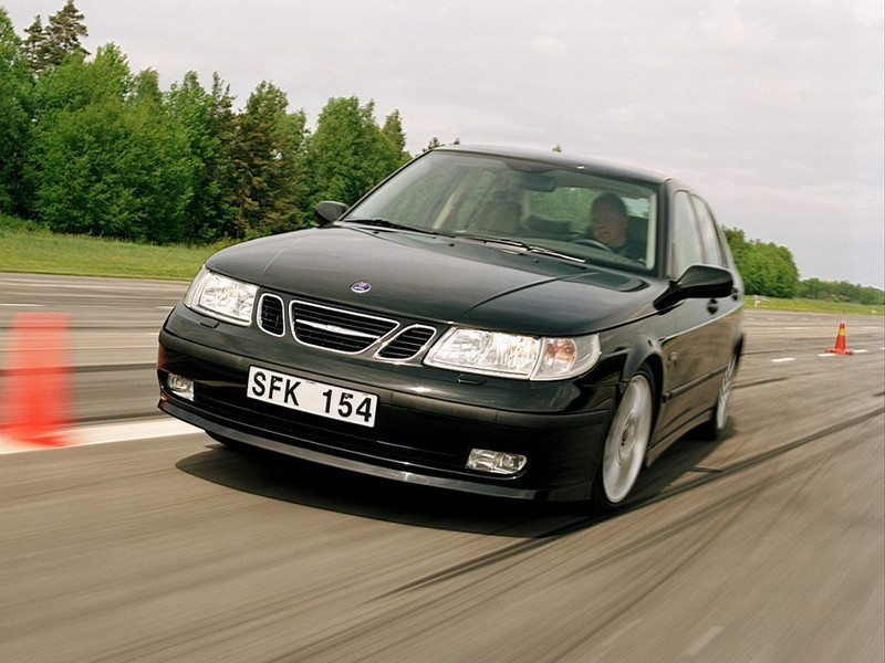 2002 2003 Saab 9 5 Aero Top Speed