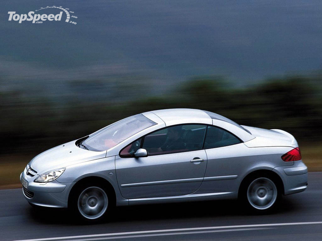 2003 peugeot 307 cc picture 12305 car review top speed. Black Bedroom Furniture Sets. Home Design Ideas