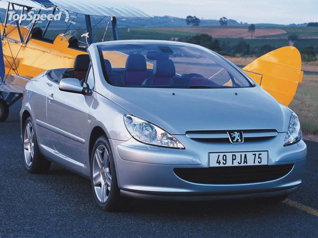 2003 peugeot 307 cc picture 12311 car review top speed. Black Bedroom Furniture Sets. Home Design Ideas