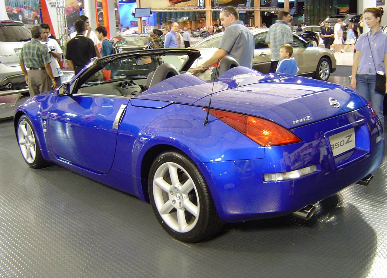 2004 nissan 350z convertible review top speed. Black Bedroom Furniture Sets. Home Design Ideas
