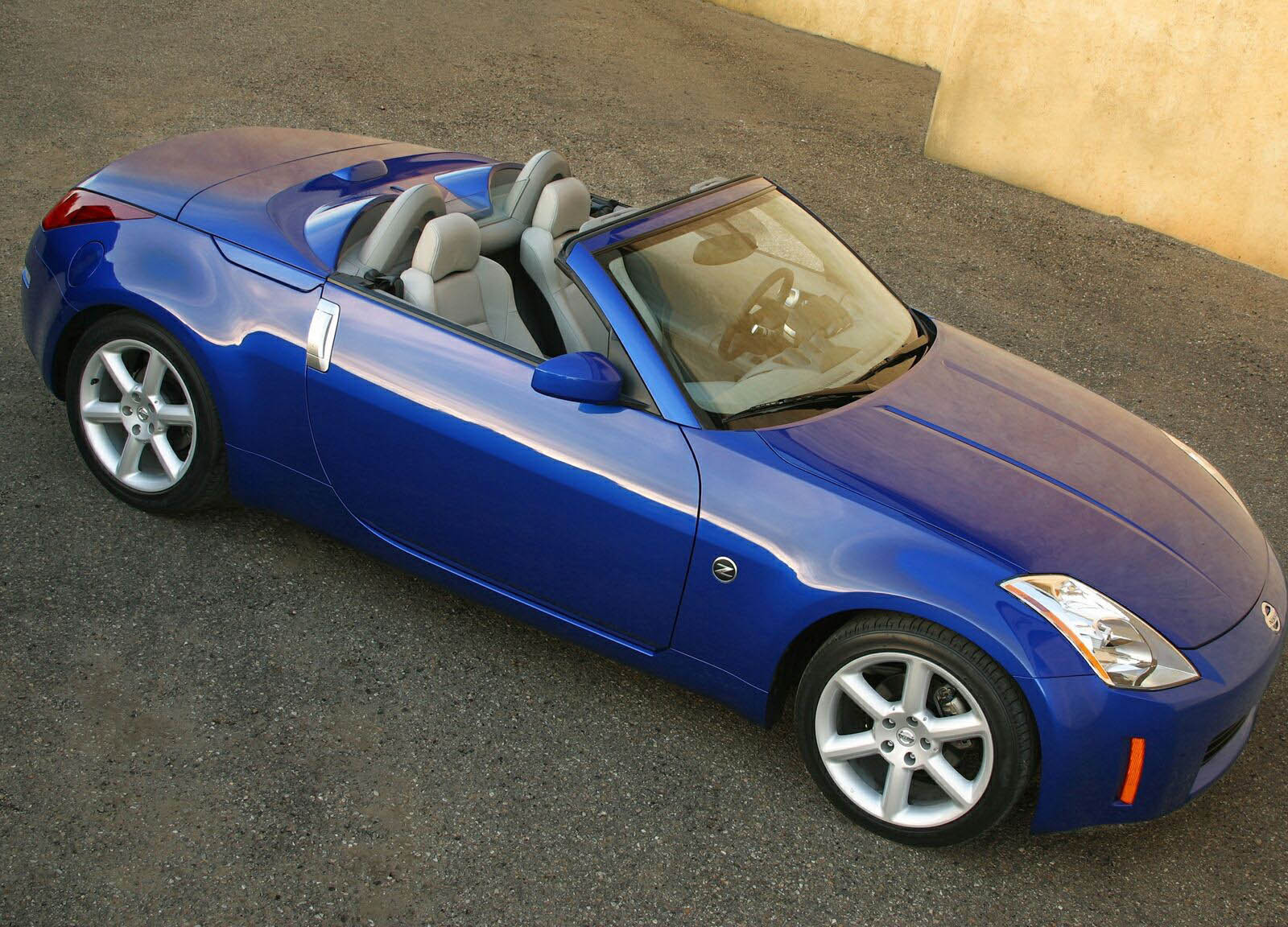 2004 nissan 350z convertible review - top speed